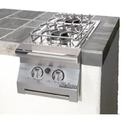 SOL-IRSB-14-NG Double Side Burner for Built-In Grill  Natural