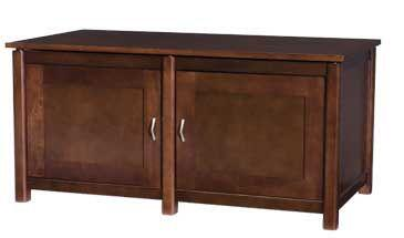 WFV44MO Woodbrook Series 44 inch  Wide TV Stand / Audio Video Cabinet in