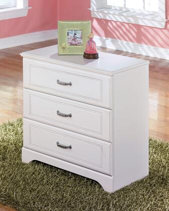 Lulu Collection B102-19 31 Loft Drawer Storage with Grooved Panels  3 Embossed Framing Drawers and Side Roller Glides in
