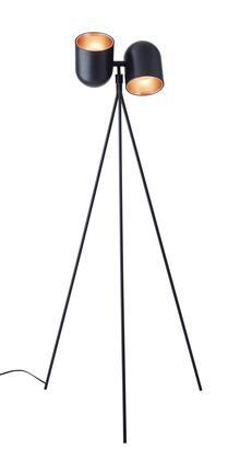 6178-01 Simon Floor Lamp  Matte Black