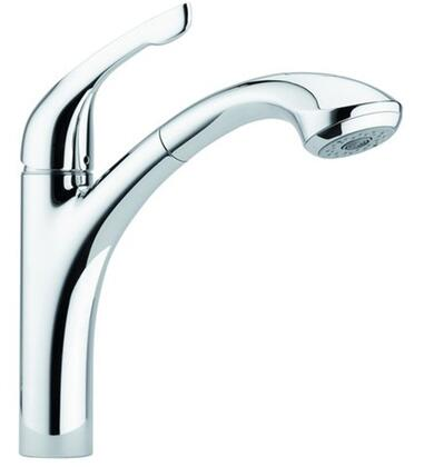 Hansgrohe 04076860 Allegro E Pullout Kitchen Faucet, Steel Optik