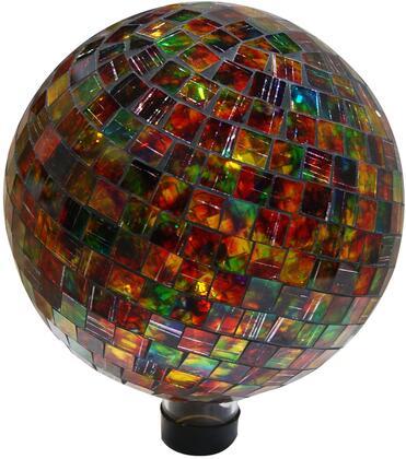 GRS430 Multi-Colored Mosaic Gazing Globe Tile