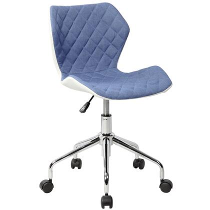 RTA-3236-BL Modern Height Adjustable Office Task Chair. Color