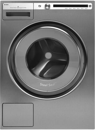 "W4114CT 24"""" Energy Star Qualified Front Load Logic Washer with 2.8 cu. ft. Capacity  1400 RPM Spin Speed  21 Programs  Anti Block Drain Pump  and Child Lock"" 916260"