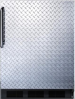 FF7BBIDPLADA 24 inch  FF7BIADA Series Medical  Commercial Freestanding or Built In Compact Refrigerator with 5.5 cu. ft. Capacity  Adjustable Spill Proof Glass