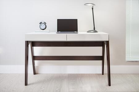 26105CW TrendLine 2-Drawer Home Office Desk in