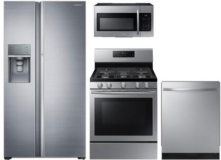4-Piece Stainless Steel Kitchen Package with 36