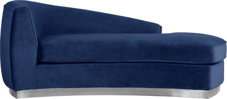 Julian Collection 621Navy-Chaise 70