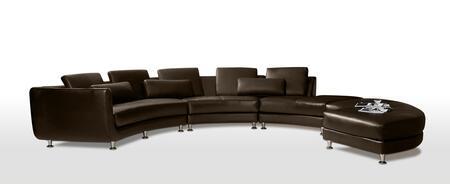 Vgyia94-2 Divani Casa A94 Contemporary Leather Sectional Sofa &