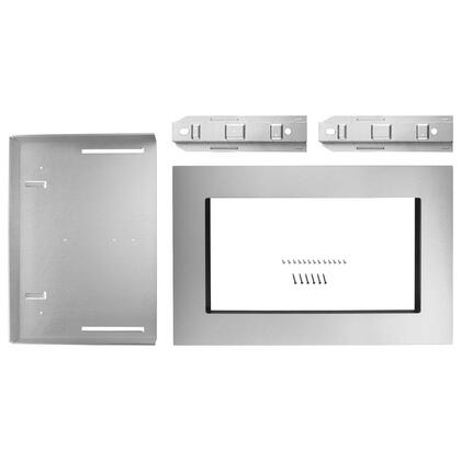 "MK2227AS 27"" Built-In Trim Kit for Microwave in Stainless"
