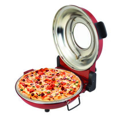 PZM 43618 R Red High Heat Stone Pizza