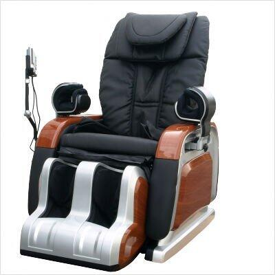 R700-BK Deluxe 3D Technology Massage Chair Recliner  Body Scan Technology  Air Bag Massages  Music Synchronized Massage  Removable Cover: