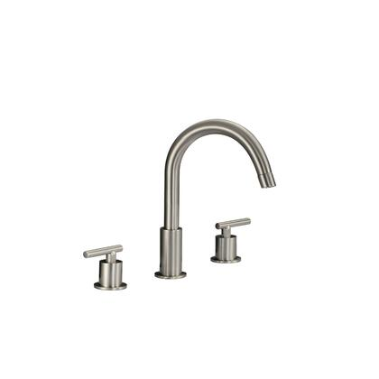 83H12-BN-A Merlion Widespread Bathroom Faucet in Brushed