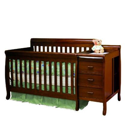 518E Athena Kimberly 3-in-1 Convertible Crib and Changer Combo in
