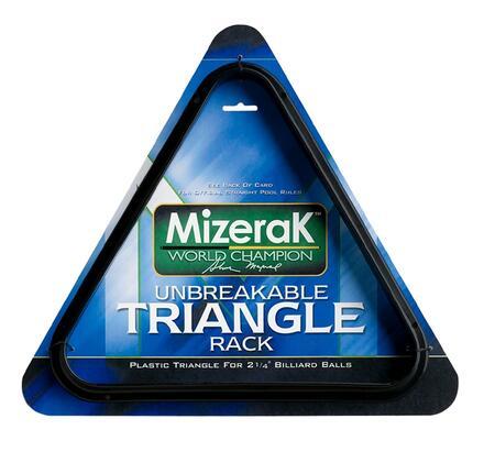 P0858 Durable Plastic Billiard Triangle