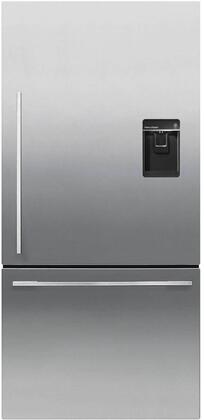 RF170WDRUX5N 32 inch  Bottom Freezer Refrigerator with 17.1 cu. ft. Capacity  Easy Cleaning  Adaptive Defrost  ActiveSmart Foodcare  Adjustable Glass Shelves  Fast