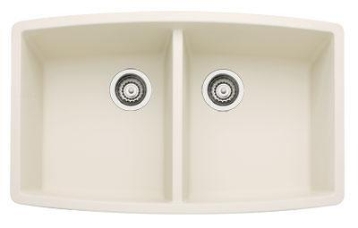 440070 Performa Silgranit Equal Double Bowl Kitchen Sink In