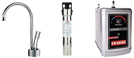 LB7200-FRC-3HT Faucet Set with LB7200 Hot & Cold Filtered Water Dispenser  FRCNSTR Filter Canister with Housing and HT300 Little Butler Heating