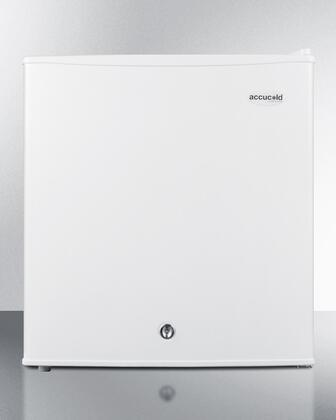 S19LWH 18 inch  Compact Refrigerator with 1.7 cu. ft. Capacity  Manual Defrost  Adjustable Thermostat  Factory Installed Lock and Removable Shelf in