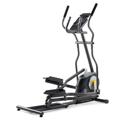 PFEL02916 150i Elliptical with Inertia Enhanced Flywheel  Large LCD Display  IPod Compatibility  12 Preset Work Outs and Transport
