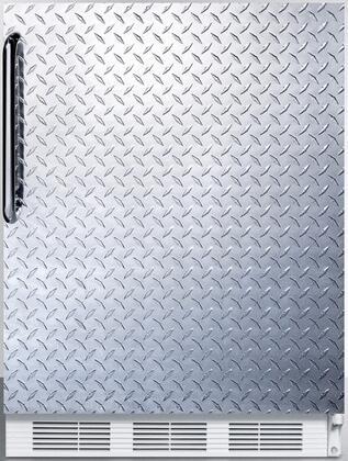 CT66JDPLADA 24 inch  CT66JADA Series ADA Compliant  Medical Compact Refrigerator with 5.1 cu. ft. Capacity  Interior Light  Adjustable Thermostat  Clear Crisper