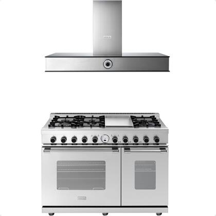 2-Piece Stainless Steel Kitchen Package with RN482SCSS 48