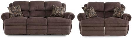 Hancock Collection 203142614124113SL 2-Piece Living Room Set with Sofa and Loveseat in Viper