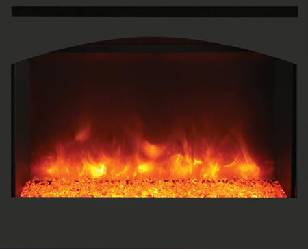Amantii Zero Clearance Electric Arch Steel Surround Fireplace