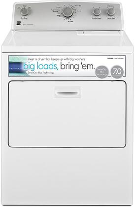 75132 29 Gas Dryer with 7 cu. ft. Capacity  SmartDry Plus Technology  Wrinkle Guard and Drop Down Door in