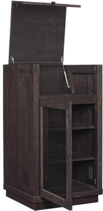ATCA90111-M342 24 inch  Coltrane - Audio Cabinet with Tinted Tempered Safety Glass and CMS Cable Management