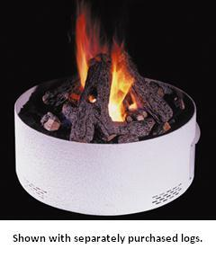 OCR-27-01 27 Inch Fyre Pit Base with Natural Gas Burner and Remote