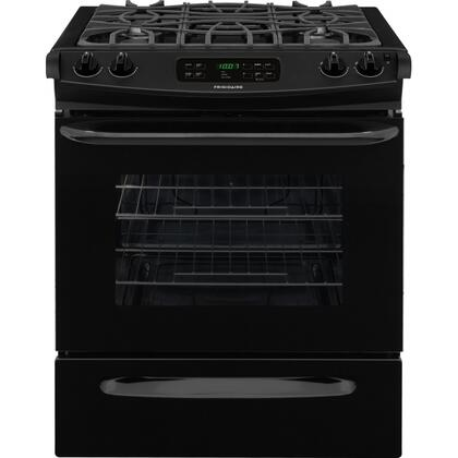 FFGS3025PB 4.5 cu. ft. ADA Compliant Slide-In Gas Range with Sealed Gas Burners  Utility Drawer  Ready-Select Controls  Oven Rack Handles  Continuous Grates