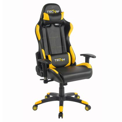 RTA-TS47-YLW Office-PC Gaming Chair. Color: