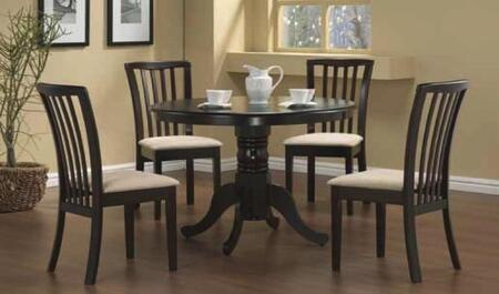 Everett_Collection_5010-S_Dining_Side_Chair_with_Slat_Back__CAFR_Foam__Microfiber_Seat_and_Rubberwood_Construction_in_Cappuccino