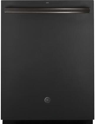 """GE 24"""" Top Control Tall Tub Built-In Dishwasher Black Slate GDT695SFLDS"""