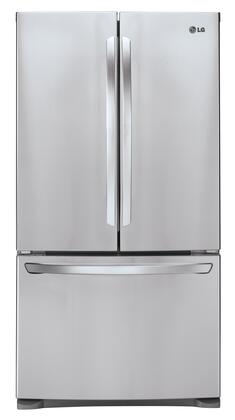 LG - 27.7 Cu. Ft. French Door Refrigerator - Stainless Steel LFC28768ST