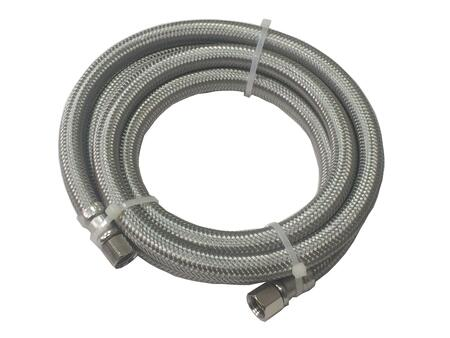 """60"""" Water Hose/Ice Maker Connector with 1/4"""""""