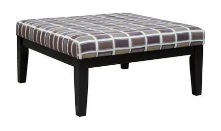 "Larkhaven Collection 8190208 40"""" Oversized Accent Ottoman with Fabric Upholstery  High Tapered Legs and Apron in"" 749372"