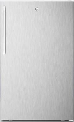 FF511LADAL7SSHVADA 20 inch  ADA Compliant  Commercially Approved  Medical Compact Refrigerator with 4.1 cu. ft. Capacity  Crisper  Automatic Defrost and Door Lock: