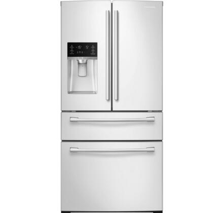 "RF28HMEDBWW 36"" French Door Refrigerator with 28 cu. ft. Ultra High Capacity  Counter-Height FlexZone Drawer  Twin Cooling Plus  Ice Master  EZ-Open Handle"