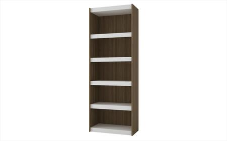 Parana 3.0 Collection 32AMC47 72 inch  Bookcase with 5 Shelves and High Quality MDP in White and
