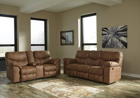 Boxberg Collection SIG2PCRCLKIT1P 2-Piece Living Room Sets with Motion Sofa  and Loveseat in