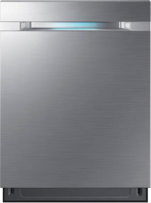 "Samsung Waterwall 24"" Top Control Tall Tub Built-In Dishwasher Stainless steel DW80M9550US"