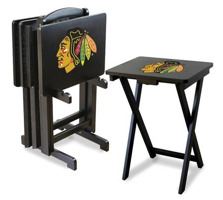 86-4002 Chicago Blackhawks TV Trays