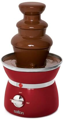 SP1499 Mini 3-Tier Chocolate Fondue Fountain with 1 lb. Capacity  Auger Design and 90 Watts in