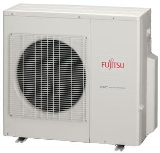 FUJITSU AOU36RLXFZ 3 TON Variable Speed Halcyon Hybrid Flex Inverter Driven Quad Zone Outdoor Mini-Split Heat Pump, 15.3 SEER 208-230/60/1 R-410A