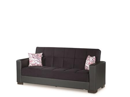 Armada Collection ARMADA SOFA #6 BLACK/ BLACK 11-379 88