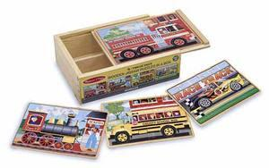 3794 Deluxe Vehicles in a Box Jigsaw