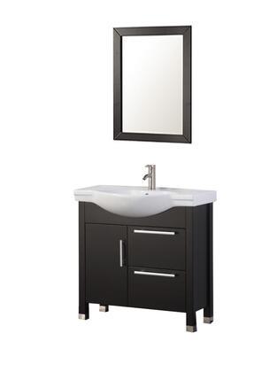 -6010E Peru 36 Single Sink Bathroom Vanity Set