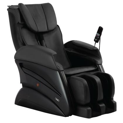 TW-Chiro BLACK Massage Chair with 3D Body Scanning  S-Track Massage  Waist Compression  16 Auto Programs  Whole Body Stretching and Design for All Body Types